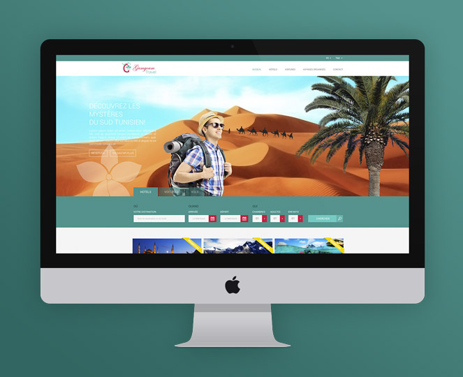 Gamgoum Travel-site web